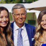 Wolgang Bosbach mit seinen Töchtern