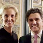 Experten im Reitsport: Rosalie Landsberg-Velen, Sönke Lauterbach (Generalsekretär FN)